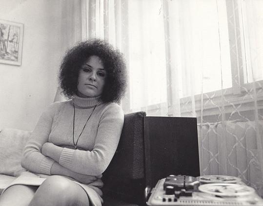 Jitka v roce 1971, kdy teprve čekala na své největší hity.