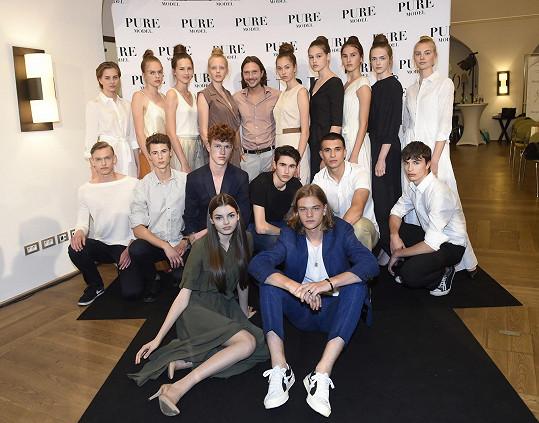Na semifinále Pure Model 2019, modelingové soutěže, kterou loni vyhrála.