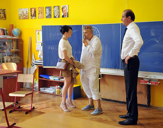 Stryková v rozhovoru s režisérem Tomášem Svobodou