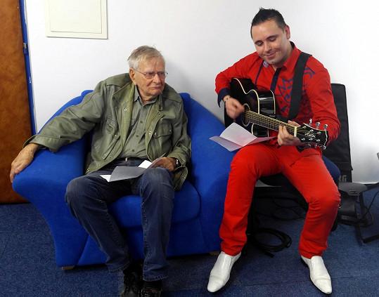 S Davidem Laštovkou