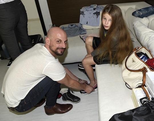 Vanesska měla i osobního stylistu Filipa Vaňka.