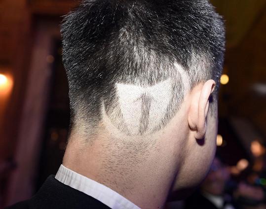 Dal si vyholit logo firmy, pro niž pracuje.