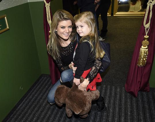 Iveta s dcerou Anetkou