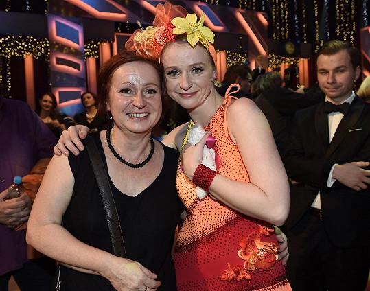 Marie s maminkou po přenosu