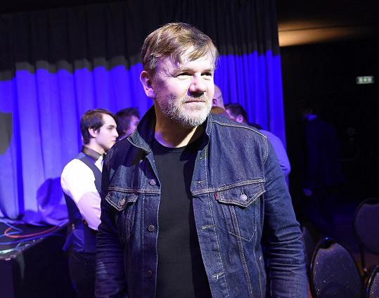 Michal Hrůza v džínové bundě