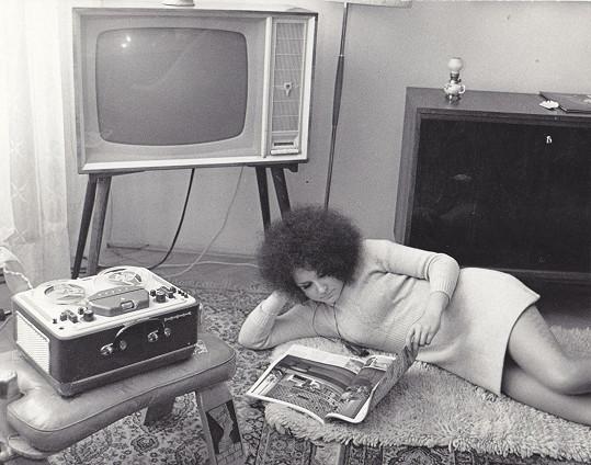 A ještě jedna typická retro fotka ze sedmdesátých let.
