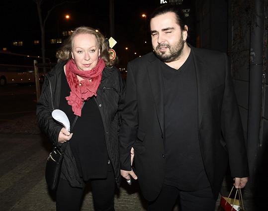 Gábina Osvaldová s přítelem Mirkem