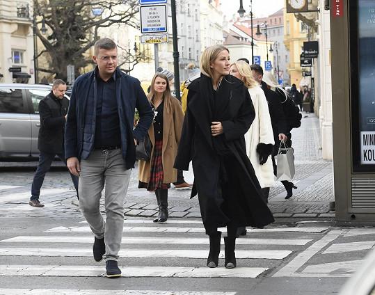 Návštěva britské hvězdy v Praze byla velmi krátká, přesto si naše hlavní město zamilovala.