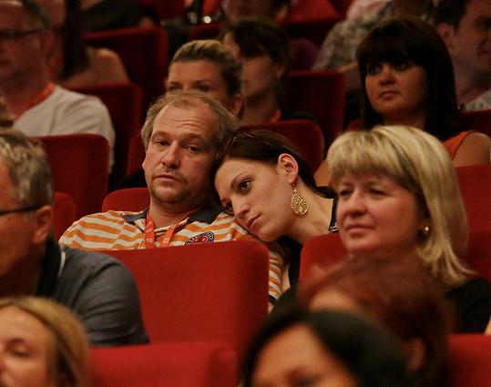 Marek Taclík s přítelkyní
