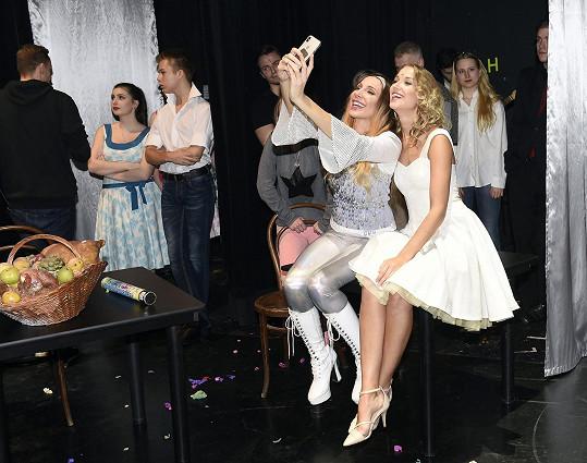 Společné selfie s kolegyněmi