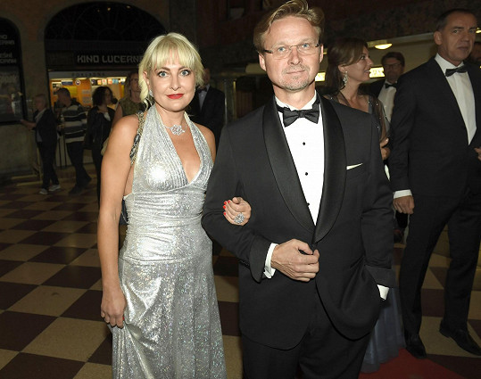 Bára s přítelem Andrejem Sukopem