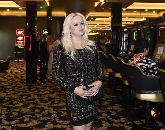 Monika Štiková se své dceři na večírku vyhýbala.