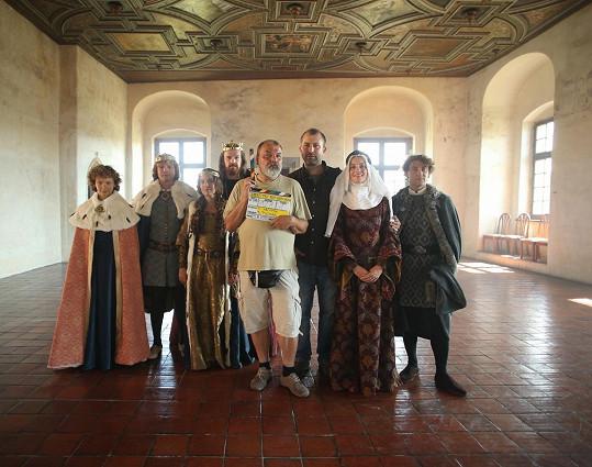 Natáčení započalo na hradě Švihov.