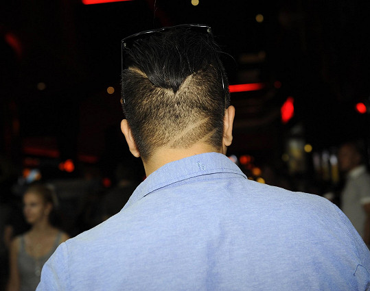 A takhle má vystříhané vlasy Marcus.