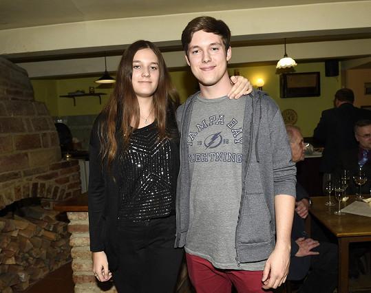 Sourozenci Renata a Vladimír Hronovi