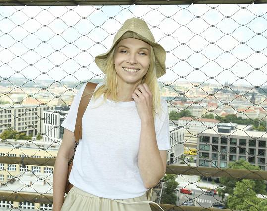 Natáčení Osady si herečka užívala.