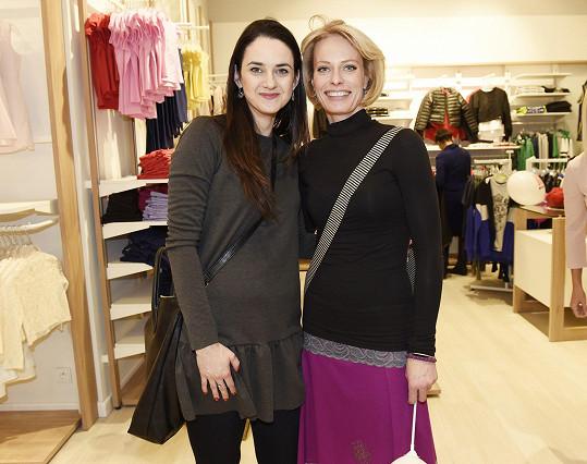 Na nákupech se potkala s bývalou kolegyní, tanečnicí Kristinou Kloubkovou.