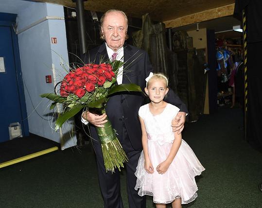 S nejmladší dcerou Emily
