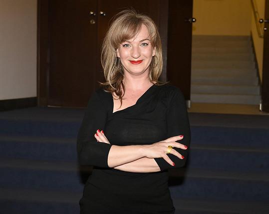 Sandra Pogodová je nejen herečka, ale i spisovatelka.