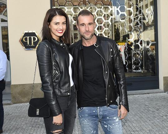 Philipp s letošní Českou vicemiss Ivou Uchytilovou