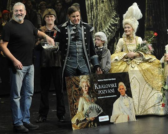 Dan na představení Marie Antoinetty losoval diváky, kteří si v luxusní restauraci užijí večeři s Antoinettou a králem Ludvíkem.