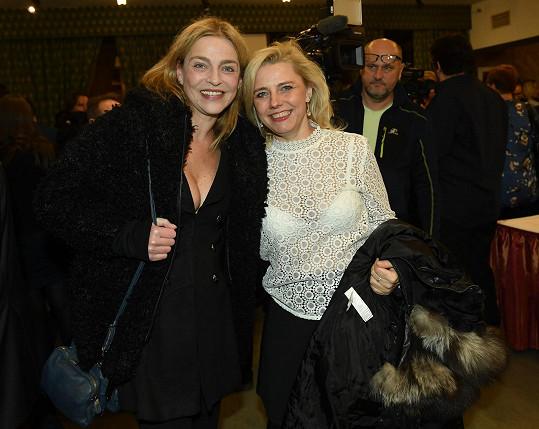 V Lucerně se herečka velmi dobře bavila.