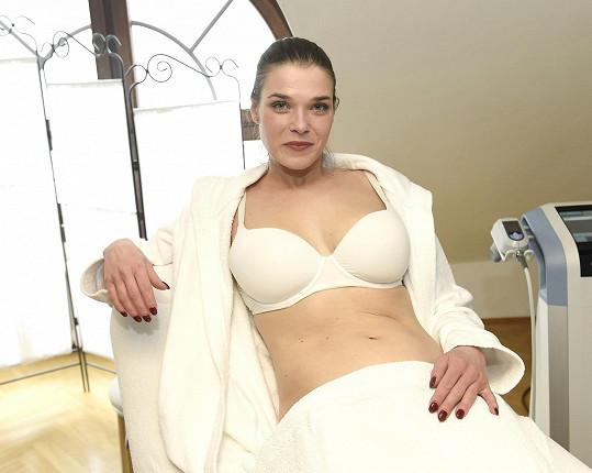 Irena Máchová už zase získává svoji původní postavu.