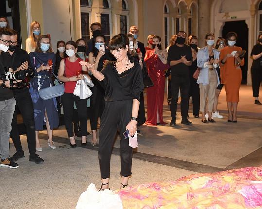 Svátek módy zahájila Liběna Rochová.