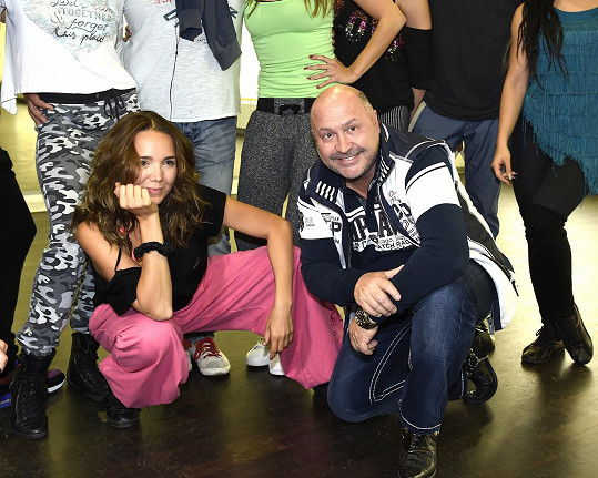Lucka s Michalem Davidem