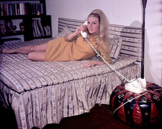 Olga Schoberová byla sexsymbolem československého filmu.