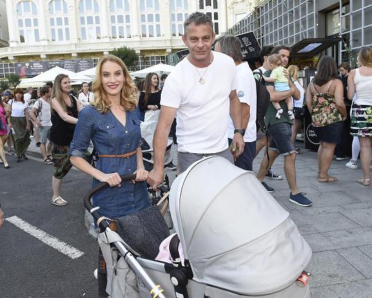 Filip Renč s manželkou Maruškou