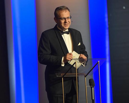 Večer tradičně moderoval Václav Moravec.
