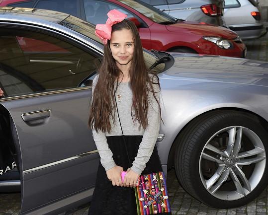 Charlotte Gottová nemohla chybět na tatínkově koncertu.