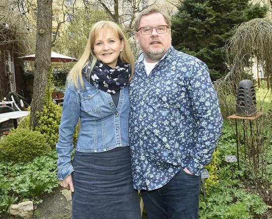 Manželé Václav Kopta a Simona Vrbická
