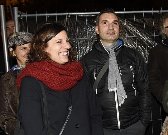 Jiří Macháček s manželkou