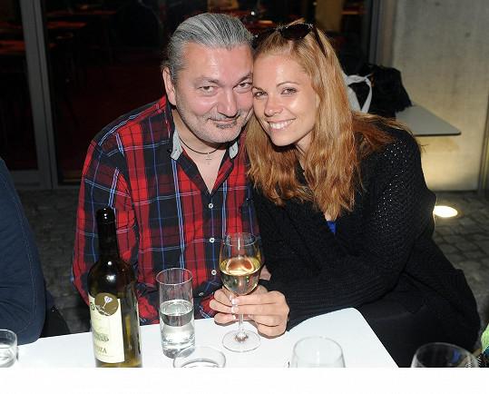 Mezi hosty byla i jeho stará láska Míša Nosková.