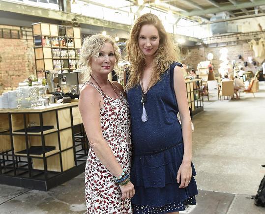 Pepina s maminkou Světlanou Nálepkovou