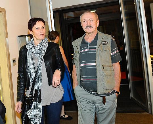 Oldřich Navrátil bude trénovat společenský tanec s manželkou.