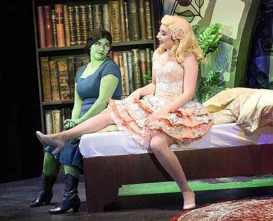 Natálie musí nyní kvůli dalšími projektu - Fantomovi opery - zhubnout.
