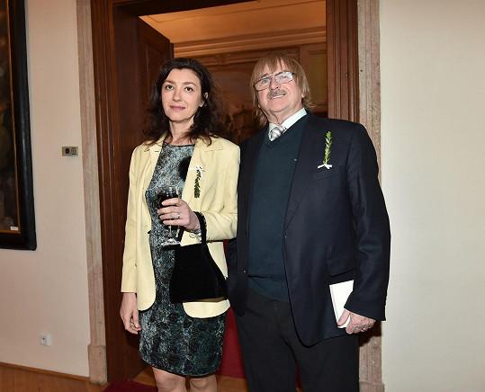 A Karel Vágner s manžekou