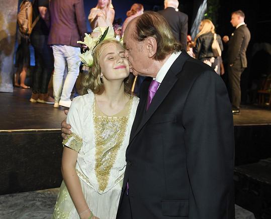 Janeček byl na dceru pyšný.