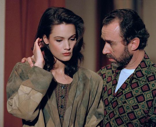 Klára Doležalová v době, kdy ještě snila o herecké dráze.
