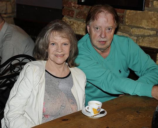 S manželem Honzou Kolomazníkem