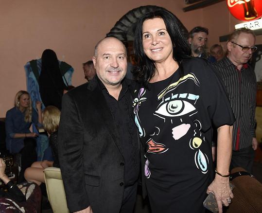 S manželkou Marcelou