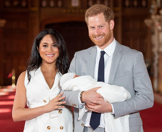 Harry a Meghan s prvorozeným synem