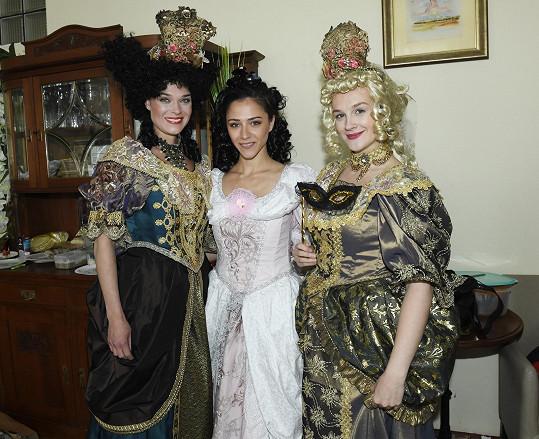 S kolegyněmi z představení