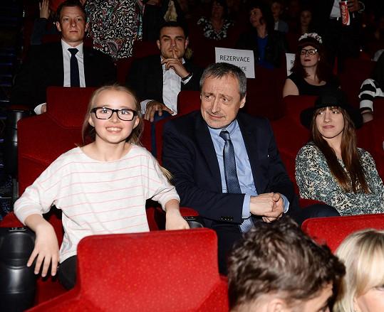 Martin Stropnický s dcerou Kordulkou