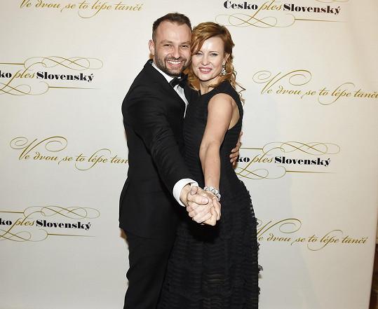Sezonu předtím tancoval s Jitkou Schneiderovou.