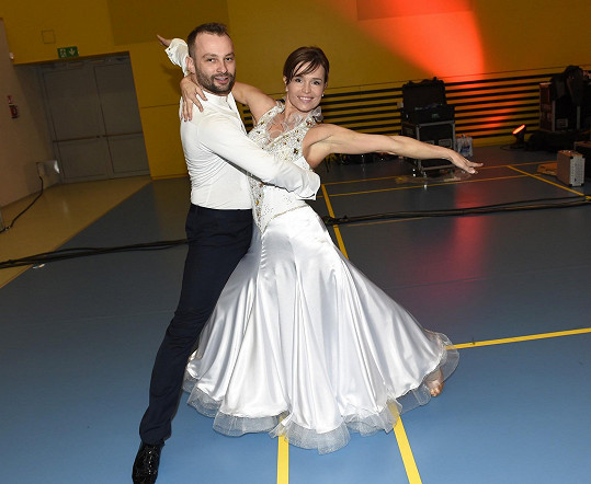 Olga s Markem si tanec užívají dál. Prý chystají nová taneční čísla.