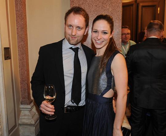 Veronika Kubařová s přítelem Pavlek Khekem